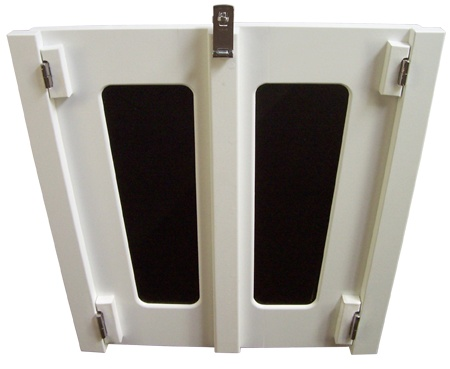 Companionway Doors Solid Starboard Custom made for any boat model image