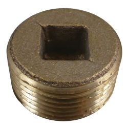 Bronze Countersunk Pipe Plugs image