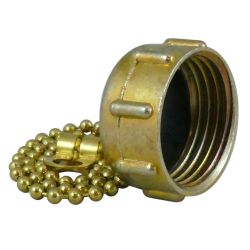 Garden Hose End Cap with Chain- FGH image