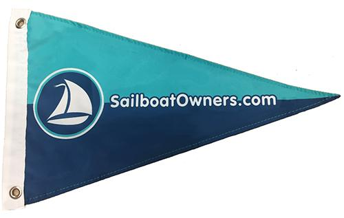 Sailboat Owners Burgee image