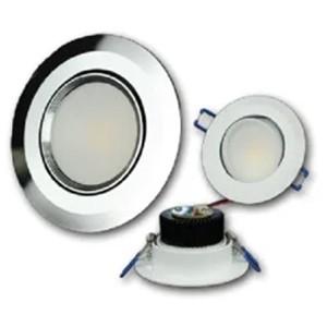 3-1/2 inch Swivel Recessed COB LED image