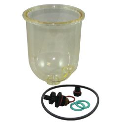 Replacement Clear Bowl for Turbine Filters image