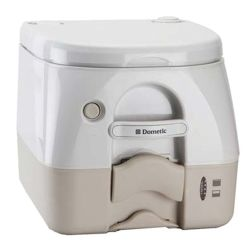 SaniPottie 970 MSD Series Pressurized Flush Portable Toilet - Empty Via Dockside Pump-Out image