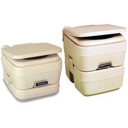 SaniPottie 960 Series Manual Bellows Flush Portable Toilets - Pour to Empty image