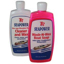Boat Soap and Wax Kit for Fiberglass image