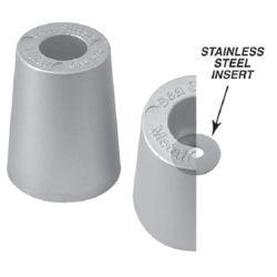 Beneteau Metric Replacement Prop Nut Anodes - Zinc image