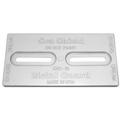 Divers Dream Slotted Plate Anodes - Aluminum image
