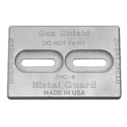 Mini Divers Dream Slotted Plate Anodes - Zinc image