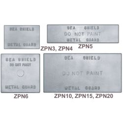 Drillable Solid Plate Anodes - Zinc image