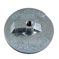 Mercury Outdrive Skegless Plate Anodes - Zinc image