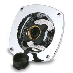 Bulkhead Mount Regulated City Water Inlet - 65 PSI image