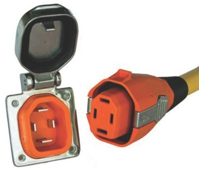 50 Amp Boatside Inlet & Connector image