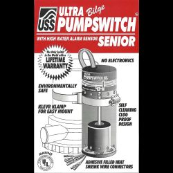 Ultra Bilge Pumpswitch Senior - w/ Hi Water Sensor image