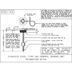 Wema System S5u Npt Threaded Fuel, Kus Fuel Gauge Wiring Diagram