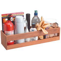 Teak Utility Shelf Rack image