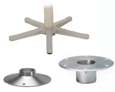 Seat and Table Flush mount Base for Zwaardvis Columns image