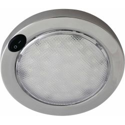 5-1/2 in. Columbo LED Dome Light - SS, 4 in. Lens image